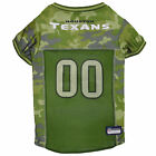 Pets First Houston Texans Camo Jersey