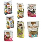 Assorted Wild Birds Mealworms Seeds Feed Nuts Kingfisher Bird Care (1 Supplied)