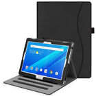 For Lenovo Tab 4 10 / Tab 4 Plus 10 Case Multi-Angle Viewing Folio Stand Cover