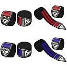 """RDX hand wraps boxing 180"""" For MMA Kickboxing Muay Thai Wrist Support One Size"""