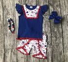 ACCESSORIES INCLUDED Custom Boutique Patriotic Fourth of July 4th of July Flag