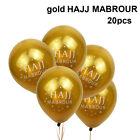 Islamic New Year Hajj Mabrour Eid Mubarak Balloons Party Event Festival Decor