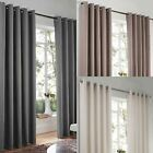 "CLEARANCE Lincoln Lined Curtains Ready Made Heavy Weight Curtain Pairs 90"" x 72"""