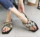 womens 2018 stylish open toes summer sandals shoes slippers mules outdoor casual
