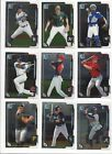 2015 BOWMAN CHROME PROSPECTS #'S 1 -250   - RC'S 1st cards --  U PICK!