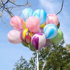 baby show reviews - 100Pcs/Lot Marble Agate Latex 12 Inch Balloon Party Birthday Decro Baby Shows