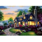 5D Diamond Painting Kits Cross-Stitching Embroidery Landscape Arts Crafts Tools