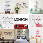 Art Vinyl English Wall Stickers Home Decor Mural Decal For Kids Room Bathroom