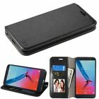 Leather Flip Wallet Case Cover Stand For ZTE Blade Z Max/Zmax Pro/Max XL/Sequoia
