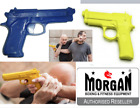 Plastic Training gun glock pistol disarm Krav Maga self defence rubber miltary
