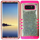 For Samsung Galaxy Note 8 - KoolKase Hybrid Cover Case Crystal Glitter 02