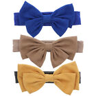 Внешний вид - Cute Baby Headband with Suede Bow Soft Stretchy Toddlers Head Band Great Colors!