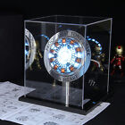 DIY Master Grade Iron Man MK1 Arc Reactor Display Box Stand Base USB US STOCK <br/> ALL OF THEM ARE DIY PROPS,WITHOUT ASSEMBLY