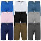 Mens Chino Shorts Casual Summer Cotton Jeans Half Pants Cargo Combat Casual New.
