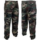 Mens Camouflage Joggers Camo Jog Jogging Sweat Pants