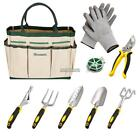 NEW GARDENING TOOLS SET Gift Indoor Outdoor Kit Heavy Duty 6pcs Plant Trimmer US