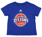 Adidas NBA Infant Detroit Pistons Short Sleeve Team Logo Tee, Blue