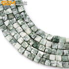 4mm Natura Square Cubic Cube Assorted Gemstone Beads Jewelry Making 15'' Stone