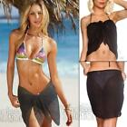 Mini Sarongs New Sheer Fine Chiffon Short Length Sarong Wrap Swimwear Cover Ups <br/> FREE Shipping - Same Day Dispatch - 6 Colours