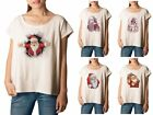 Santa Claus Printed 100% Cotton Fashion Plus Size T-shirt Tee WTS_01