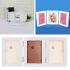 baby footprint impression kit - BABY KIDS CLAY KEEPSAKE & PHOTO DESKTOP FRAME KIT HANDPRINT FOOTPRINT IMPRESSION