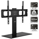 TV Cart Stand Plasma LCD LED Flat Screen Panel Floor /Tabletop Mount Fits 26-65""