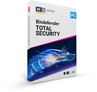 BITDEFENDER TOTAL SECURITY FOR WINDOWS - 1 USER - 1, 2, 3 & 4 YEARS - eDELIVERY
