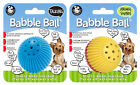 Pet Qwerks Babble Ball Interactive Dog Toy - Variety 2 Pack! - 3 Sizes Available