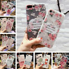For iPhone XS Max XR 7 8 3D Cute Rubber Soft Silicone Pattern Flower Case Cover