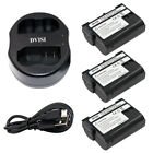 EN EL15 Camera Battery with USB Charger for Nikon D600 D610 D600E D800E D810 TOP
