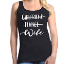 Girlfriend Fiance Wife Women's Tank Top Wedding Bachelorette Party Tee