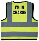 I'm In Charge Baby/Chilren/Kids Hi Vis Safety Jacket/Vest Size 0-9 Years