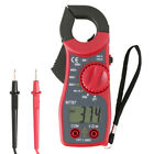 Clamp Multimeter Digital On Meter AC DC Voltmeter Auto Range Volt Ohm Amp Tester
