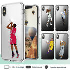 iPhone X XR XS Max Case 8 Plus 7 6 Plus Basketball II All Star Clear Bumper Case $8.8 USD on eBay