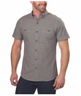 NEW G.H. Bass & Co. Men's Short Sleeve Woven Shirt