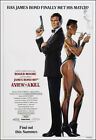 A View To A Kill Movie Poster Print - 1985 - Action - 1 Sheet Artwork James Bond $27.07 CAD on eBay