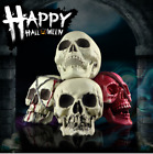Halloween Human Skeleton Head Horror Scary Gothic Skull Prop Home Party Decor
