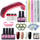 uv gel polish manicure set led lamp