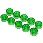 10pcs footswitch topper plastic bumpers guitar effect pedal foot nail cap Fm TK