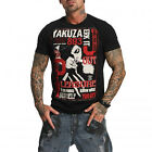 YAKUZA Herren Kurzarm T-Shirt JERK IT OUT Black 11048
