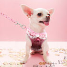 Size Yorkshire Terrier Dog Harness Leash Set Girl Vest for Chihuahua toy Poodle