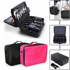 US Pro Cosmetic Makeup Case Travel Large Capacity Storage Su