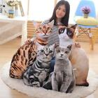 Cats Shape Pillow Home Bed Cushion Innovative Airplane Pillows Travel Chin Head