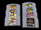 For Nintendo 64 Super Mario Party Kart Smash Video Game Cartridge Console USCard