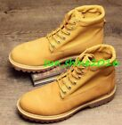 Mens Combat Boots Desert Walking Boots Outdoor Work Sports Shoes Lace Up Size
