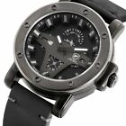 SHARK Sport Men's Date Day Calendar Second-hand Quartz Leather Strap Wrist Watch image