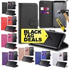For Samsung Galaxy Note 9 Leather Wallet Book Flip Case Cover