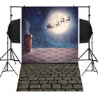 Christmas Tree Photography Background Photo Studio Props Backdrops Vinyl 3x5FT U