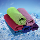 Instant Cooling Towel Reusable Chill Cool Sports Running Jogging Gym Towel us** image