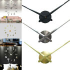 Mechanism Wall Clock Movement with Hands Repair Parts Large Silent Quartz DIY